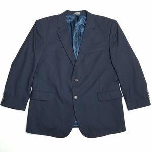 Jos A Bank Deep Navy blazer - Bronze buttons
